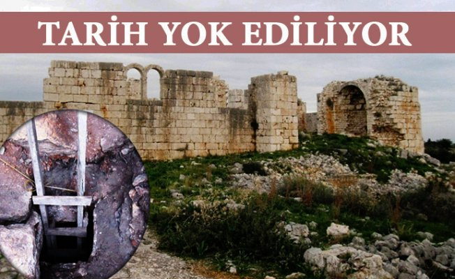 Mersin'de Tarih Yok Ediliyor