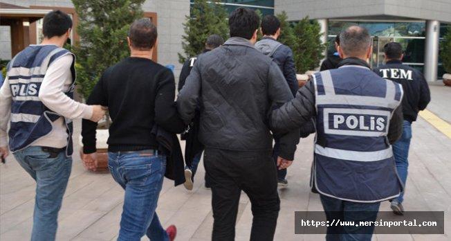 Mersin'de Terör Örgütü Propagandasına 7 Gözaltı
