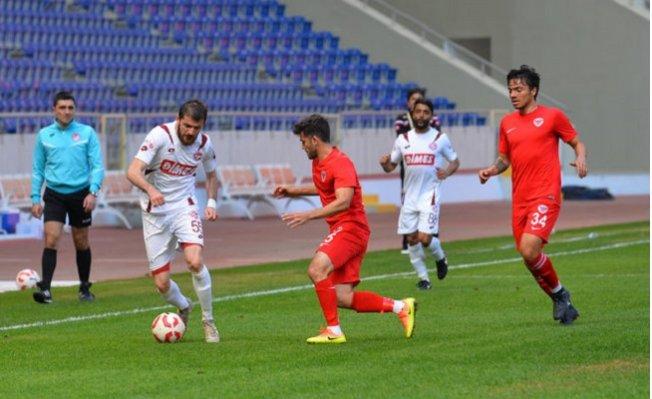Mersin İdmanyurdu - Tokatspor: 0-4