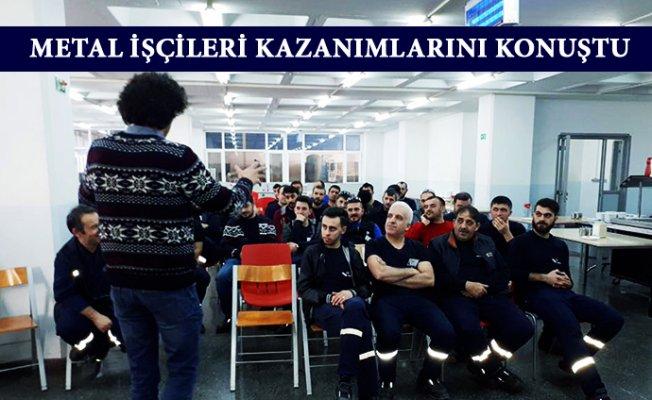Metal İşçileri Mersin'de Hak Arayışında