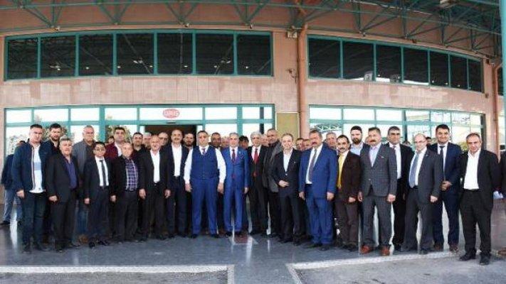 Başkan Can ve Milletvekili Şimşek, TAŞTİ Esnafıyla Buluştu