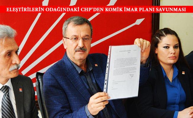 CHP İl Başkanından Komik 5000'lik Plan Savunması