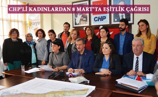 CHP'li Kadınlardan Eşitlik Çağrısı