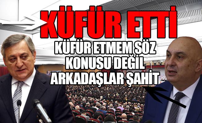 CHP'de Küfür Tartışması