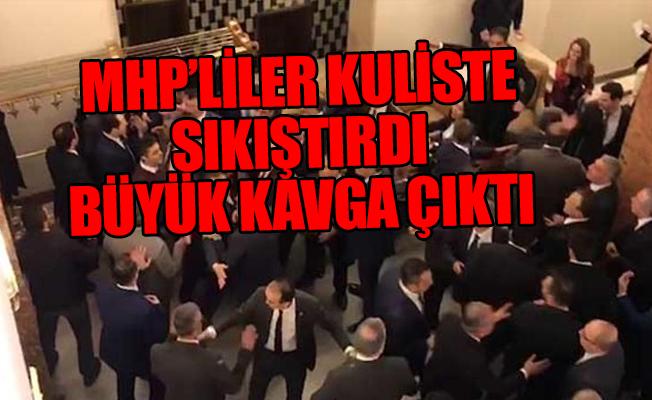 CHP ve MHP'li Vekiller Arasında Kavga
