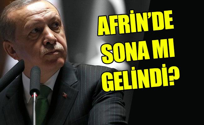Cumhurbaşkanı Erdoğan: Akşama Kadar Afrin Düşmüş Olur