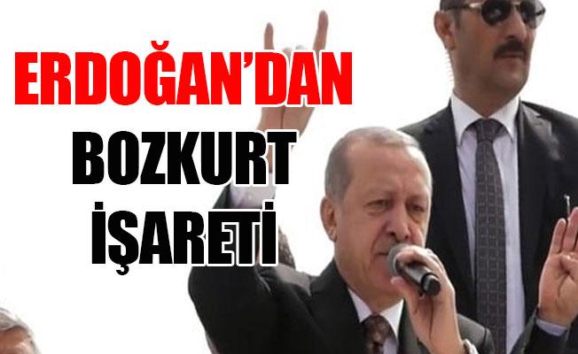 Mersin'de Bozkurt İşareti Yaptı