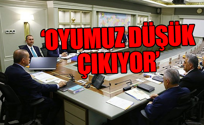Erdoğan'dan MYK'da Beklenmedik Çıkış