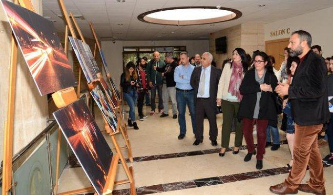 Mersin'de Geleceğin Gazetecilerinden Sergi