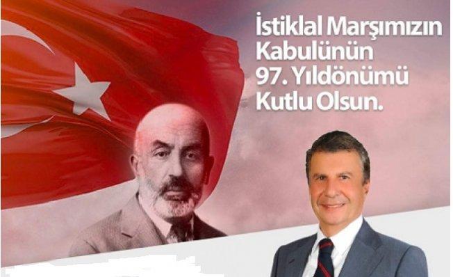 İstemihan Talay İstiklal Marşının Kabulünün 97. Yılını Kutladı
