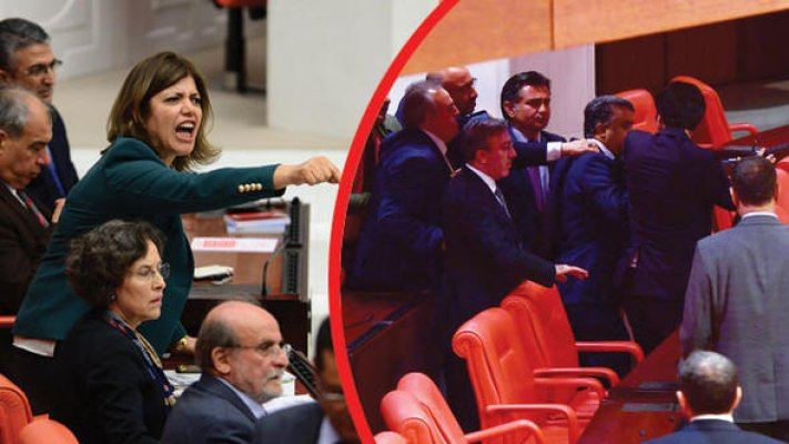 Meclis'te Afrin Kavgası: 3 Vekil Yaralandı