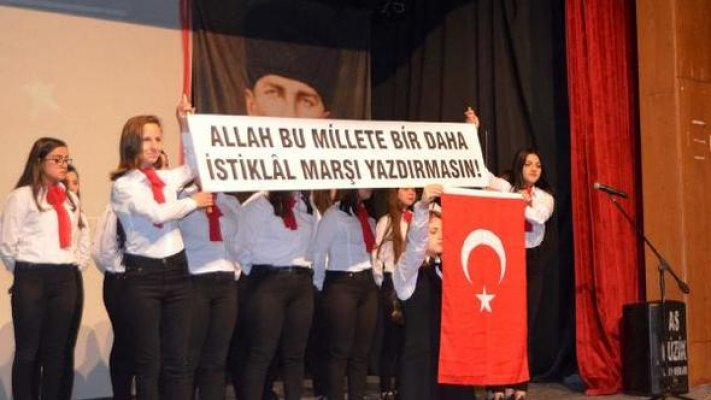 Mehmet Akif Ersoy Anamur'da Anıldı