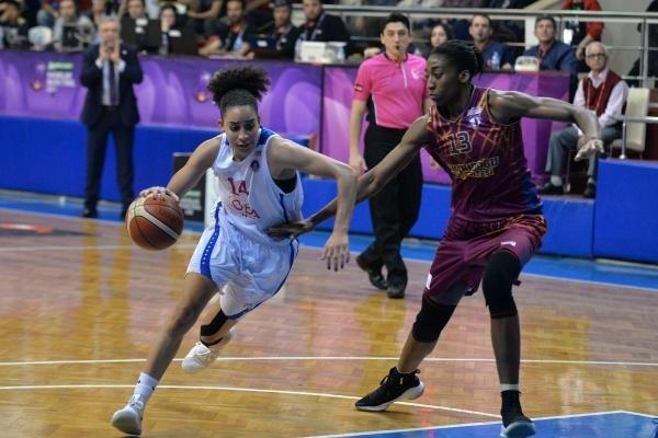 Mersin Büyükşehir Belediyespor - Yakın Doğu Üniversitesi:56-58