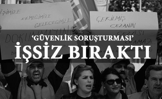 Mersin'de 600 Belediye Çalışanı İşsiz Kaldı.