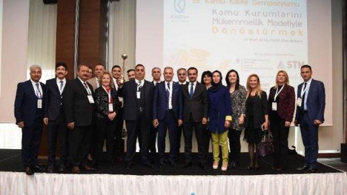 Ödüllü Tarsus Belediyesi Örnek Oldu