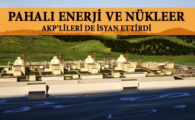 Pahalı Enerki AKP'lileride İsyan Ettirdi