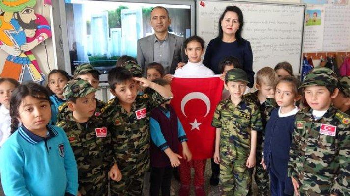 Suriyeli Sidra'dan Mehmetçiğe 'Afrin Teşekkürü'