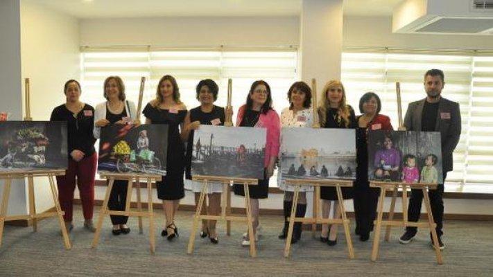Tarsus'ta 'Kadının Adı Var' Sergisi
