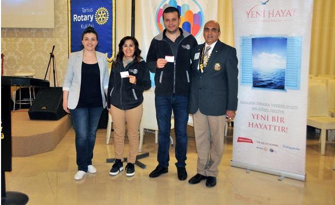 Tarsuslu Rotaryenler Organ Bağışı İçin Çalışacak
