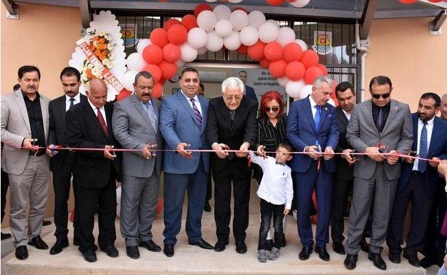 Tarsus'ta Eski Başkan Adına Spor Merkezi Açıldı