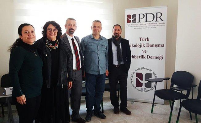 Türk PDR Derneği Mersin Şubesi Açıldı.