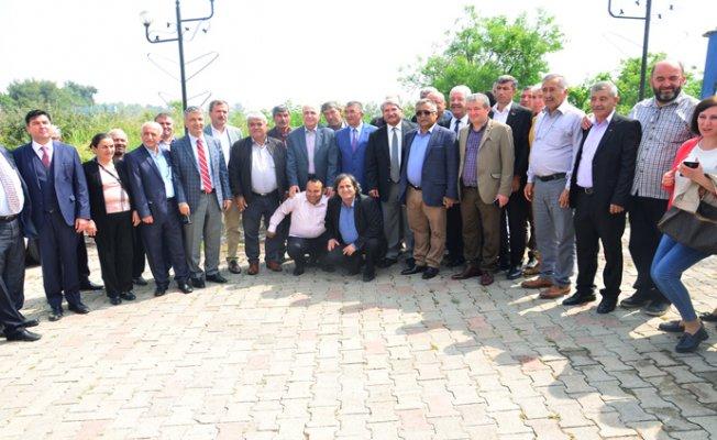 CHP Mersin'de Muhtarlar İle Buluştu.