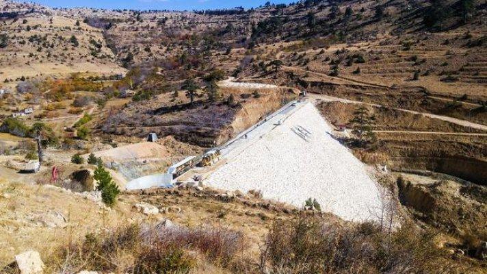 Dereyurt Göleti ve Sulaması Projesi'nde Sona Yaklaşılıyor