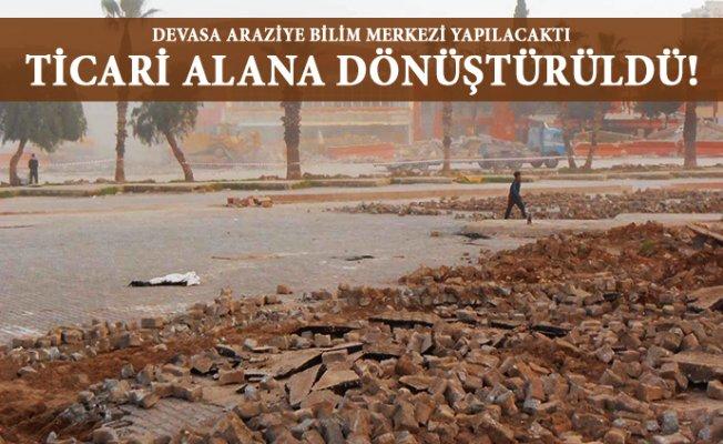 Eski Otogar Arazisi Ticari Alana mı Dönüştürüldü ?