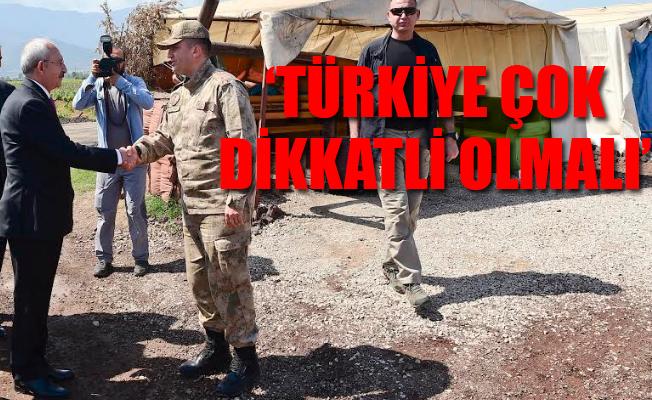Kemal Kılıçdaroğlu Sınırın Sıfır Noktasında