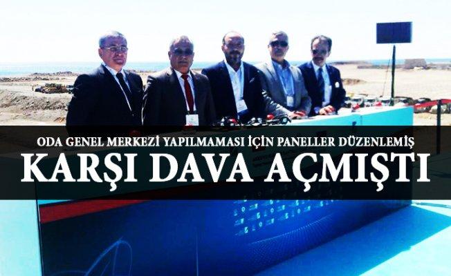 Mersin'de Akkuyu'ya Davan Açan Oda Başkanı Nükleer Açılışında