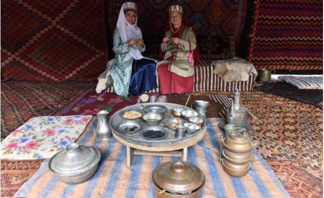 Mersin'de, Anadolu Selçuklu'daki Oba Yaşantısı Canlandırıldı