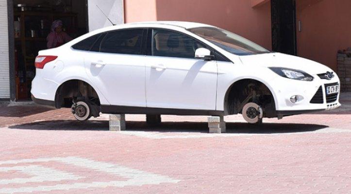 Mersin'de Hırsızlar Aracınızı Bir Sabah Bu Halde Bırakabilir