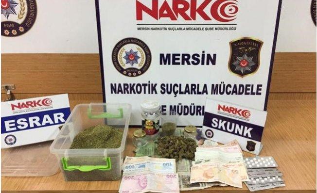 Mersin'de Uyuşturucu Satıcılarına Şok Darbe