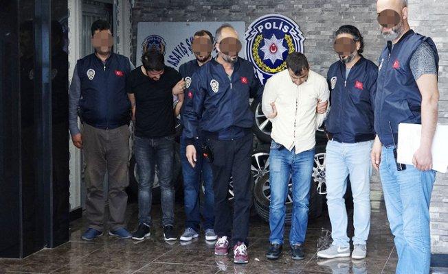 Mersin'in Kabusu Lastik Hırsızları Yakalandı.