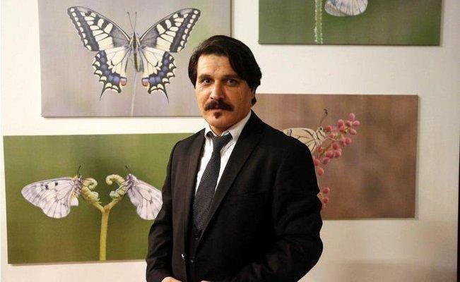 Mustafa Ercan'ın Kelebekleri Sergilenecek
