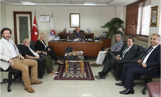 Saliha Adıcan'dan MTSO'ya Ziyaret