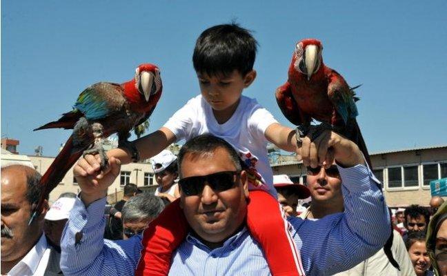 Tarsus'ta 23 Nisan Coşkusu