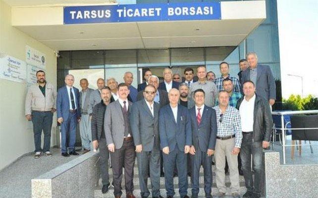 Tarsus Ticaret Borsası'nda Meclis Üyeleri Seçildi