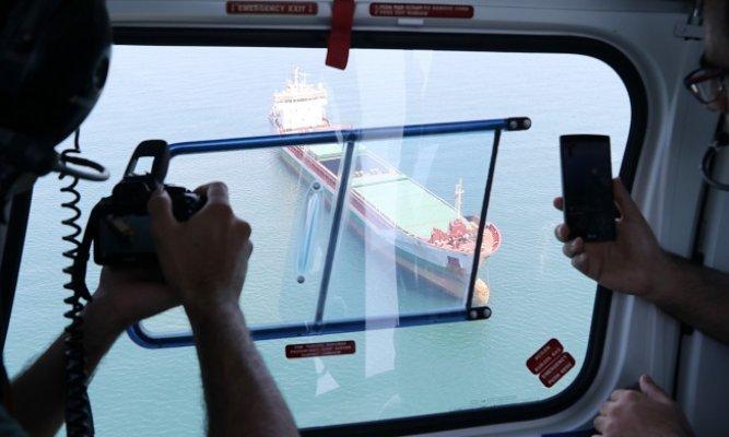 Akdeniz'i Kirleten Gemilere Havadan Ceza