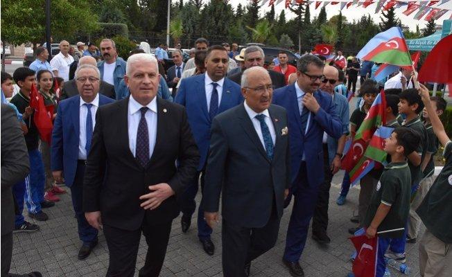 Aliyev, 95. Doğum Yıldönümünde Tarsus'ta Anıldı