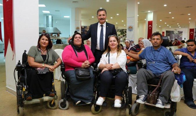 Engelliler Toroslar'da Doyasıya Eğlendi
