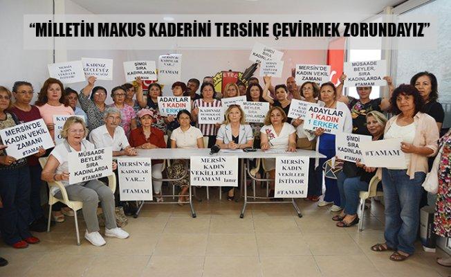 Kadın Varsa Mersin'de Destek de Var !