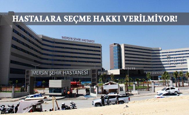 """Mersin'de 112 Hastaları Şehir Hastanesine Götürülüyor"""""""