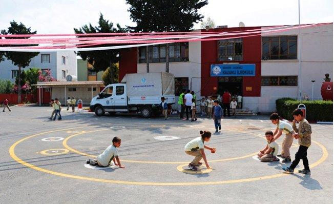Mersin'de Okullar, Geleneksel Oyunlarla Şenleniyor