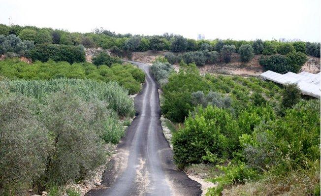 Mersin'de Yol Çalışmaları Sürüyor