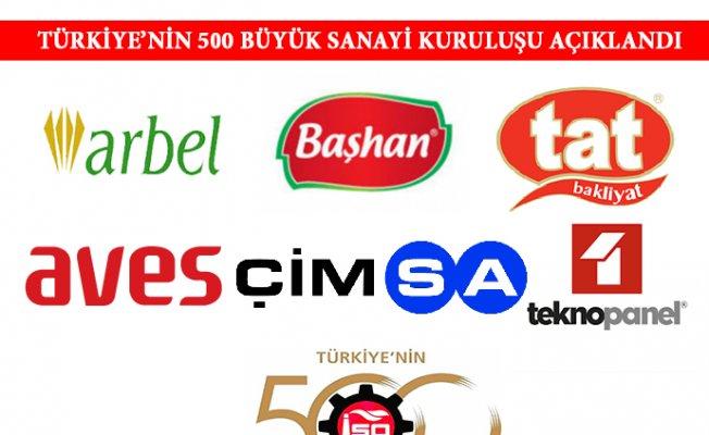 Mersin'den 6 Şirket İlk 500 İçinde