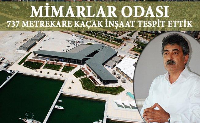 Mersin Marina'da Kaçak İnşaatlar Yargı Yolunda