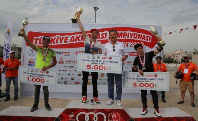 Motosiklette Türkiye Akrobasi Şampiyonası Sona Erdi
