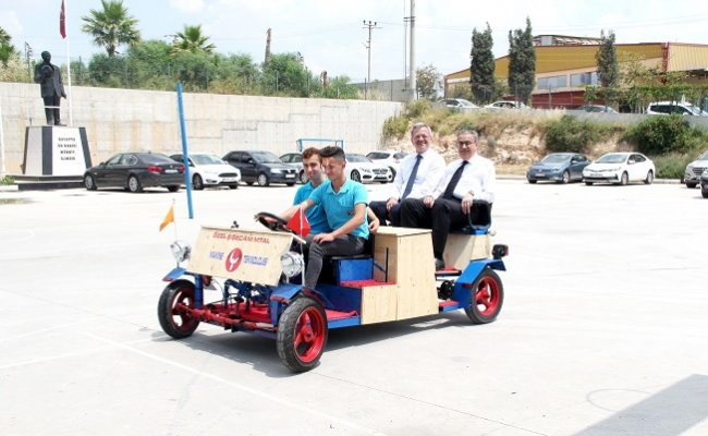 MTOSB'de 'Üreten Gençlik Proje Sergisi' Açıldı