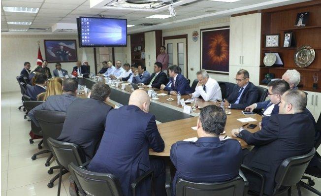 MTSO Yönetimi, Banka Temsilcileriyle Bir Araya Geldi